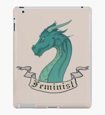 FEMINIST - Dark Dragon iPad Case/Skin