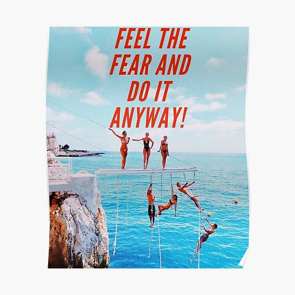 CONQUER FEAR Poster