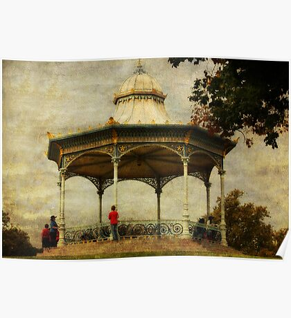 ~ Elder Park Rotunda ~ Poster