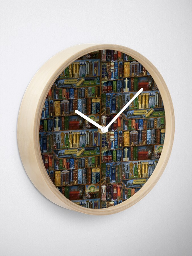 Alternate view of Books of the Bible - Clock Clock
