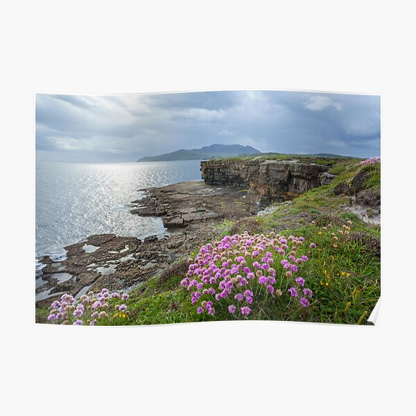 Muckross Head, Co. Donegal Poster