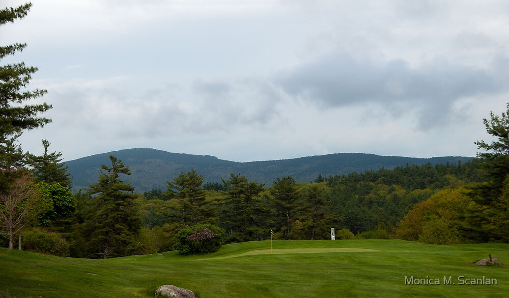 Golf Course With A View by Monica M. Scanlan