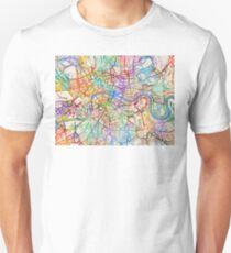 London England Street Map Unisex T-Shirt