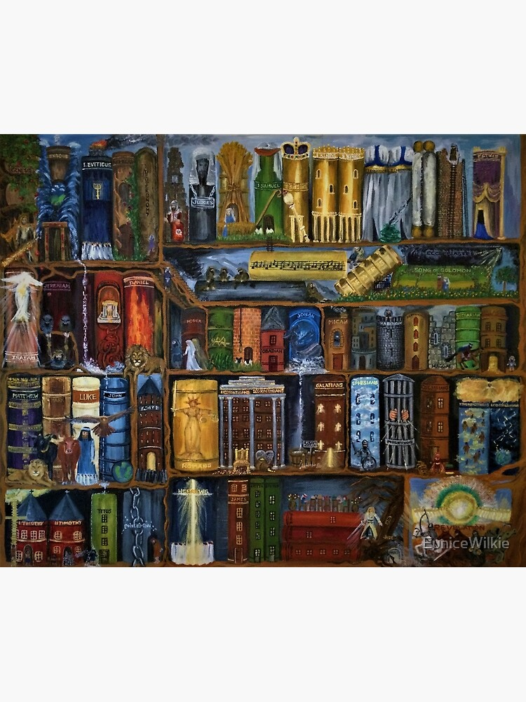 Books of the Bible - Wall Art by EuniceWilkie