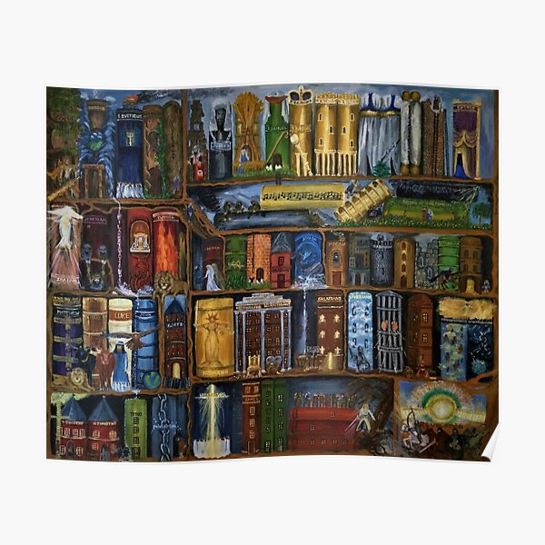 Books of the Bible - Wall Art Poster