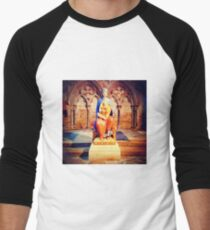 Camiseta ¾ bicolor para hombre Virgin and Child - Lincoln Cathedral