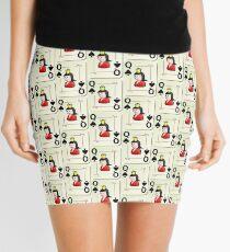 Queen of Spade Mini Skirt