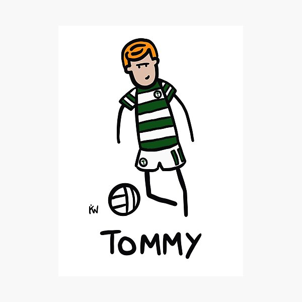 Tommy Burns Photographic Print