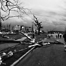 Downed Powerlines by Benjamin Sloma