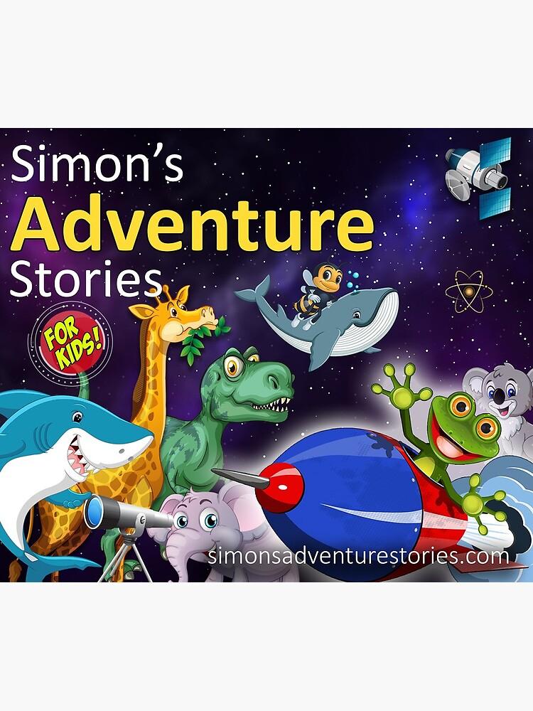 Simon's Adventure Stories Travel Mug by SimonsStories