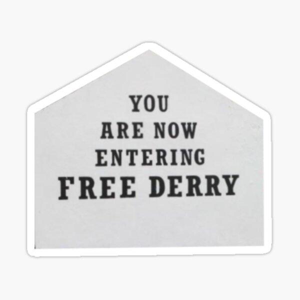 Free Derry Sticker