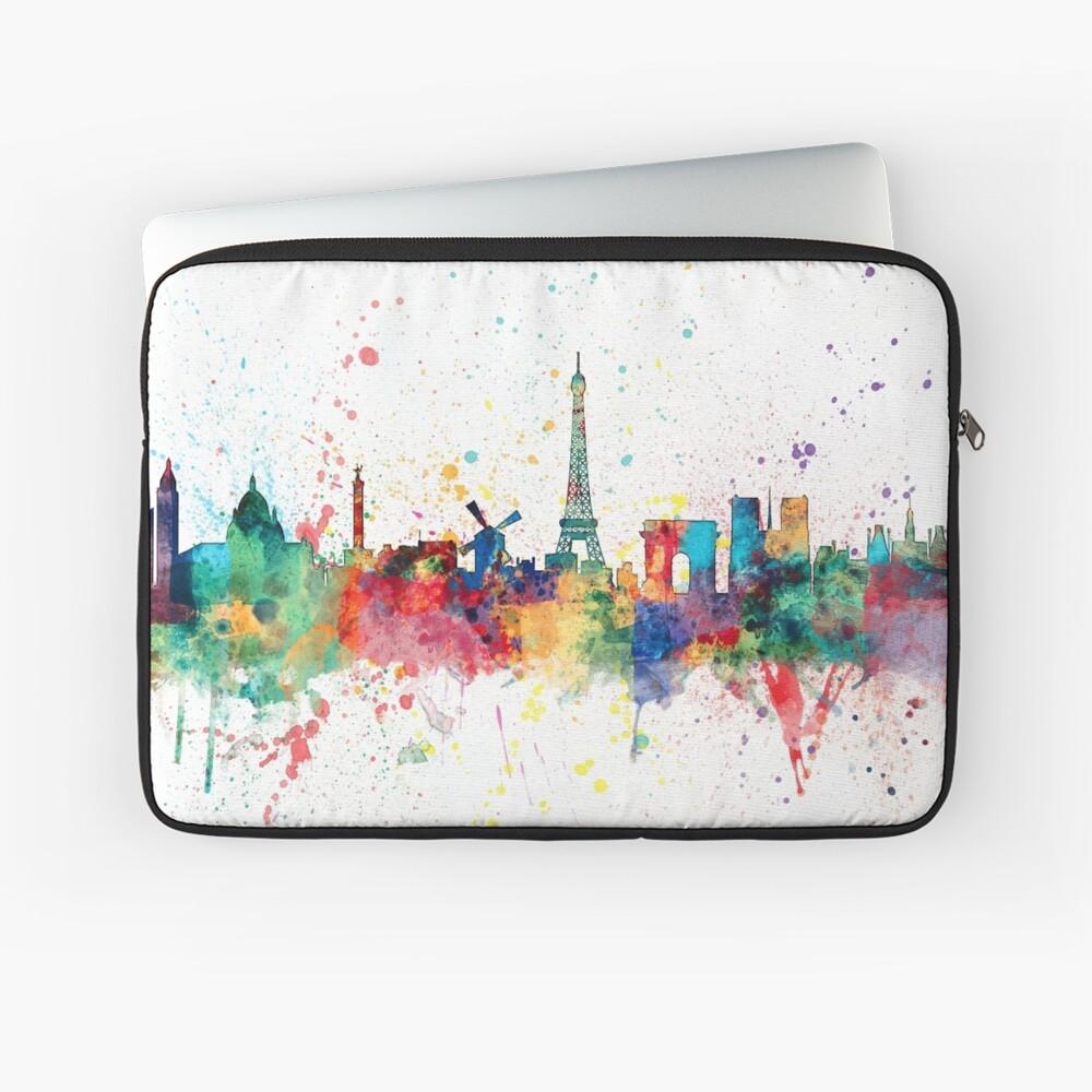 Paris Frankreich Skyline Laptoptasche