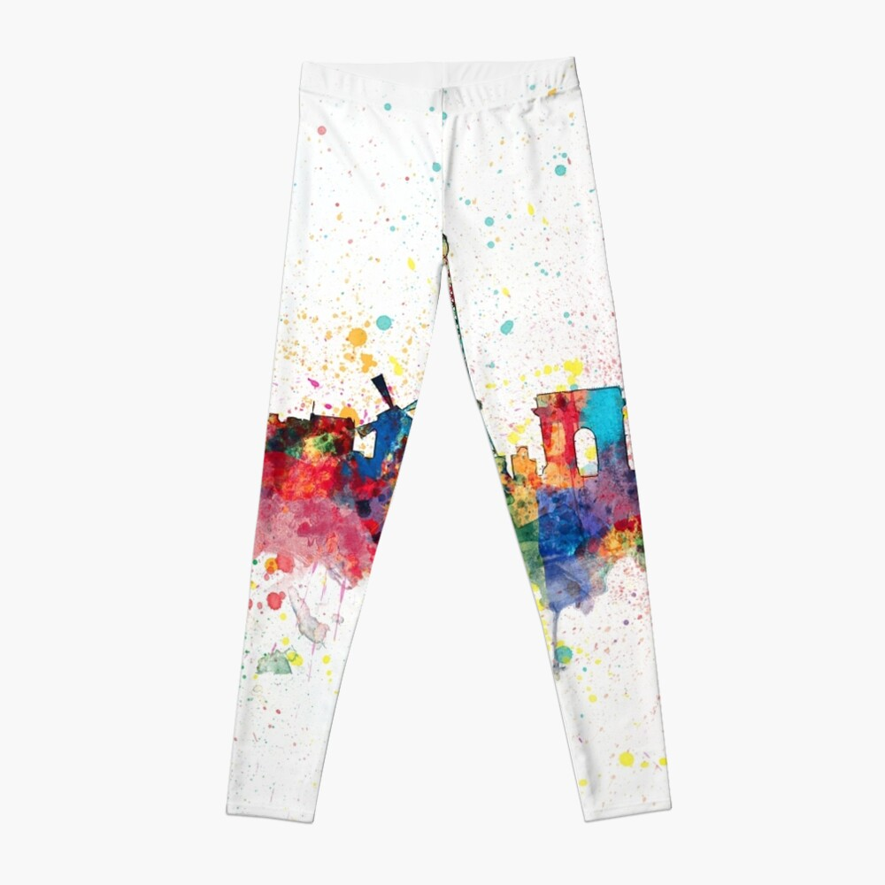 Paris Frankreich Skyline Leggings