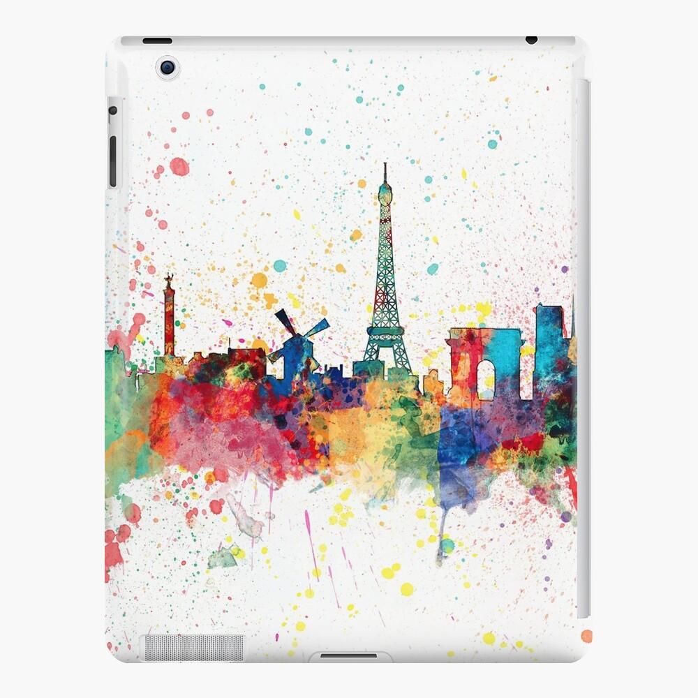 Paris Frankreich Skyline iPad-Hülle & Skin