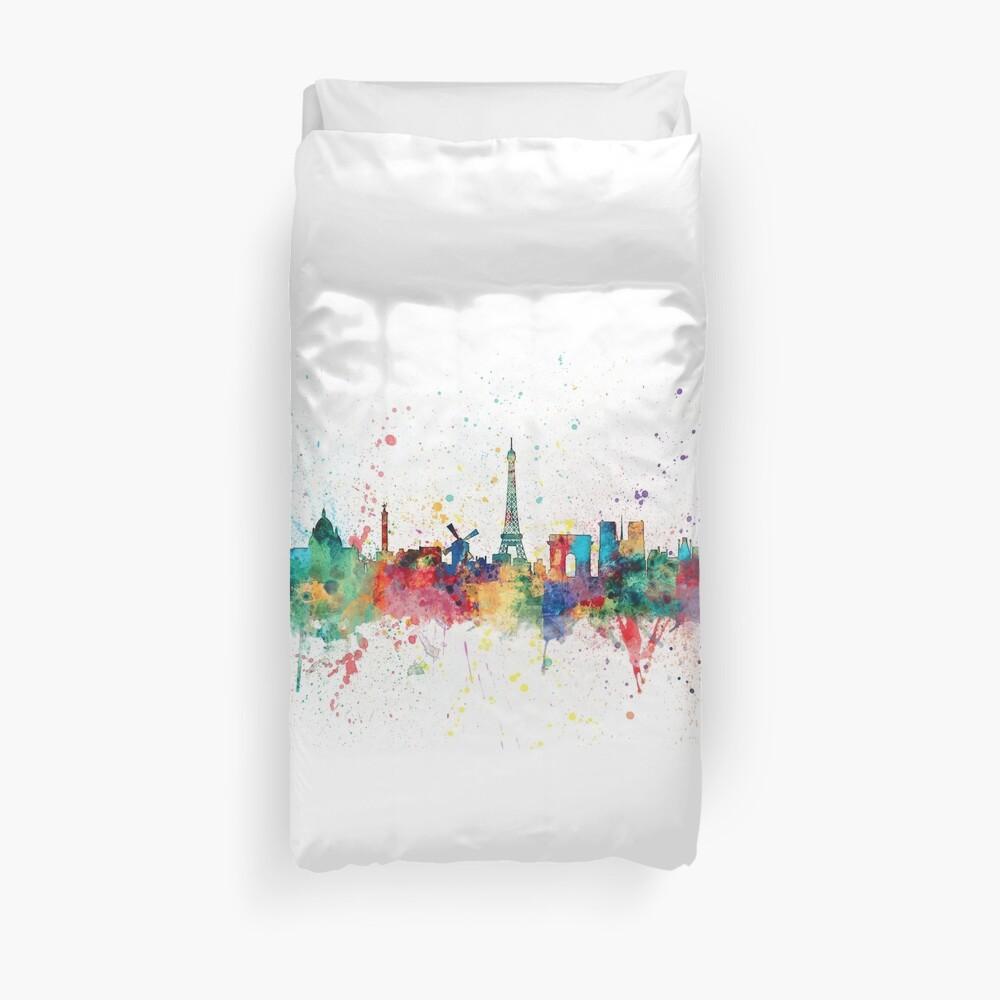 Paris Frankreich Skyline Bettbezug