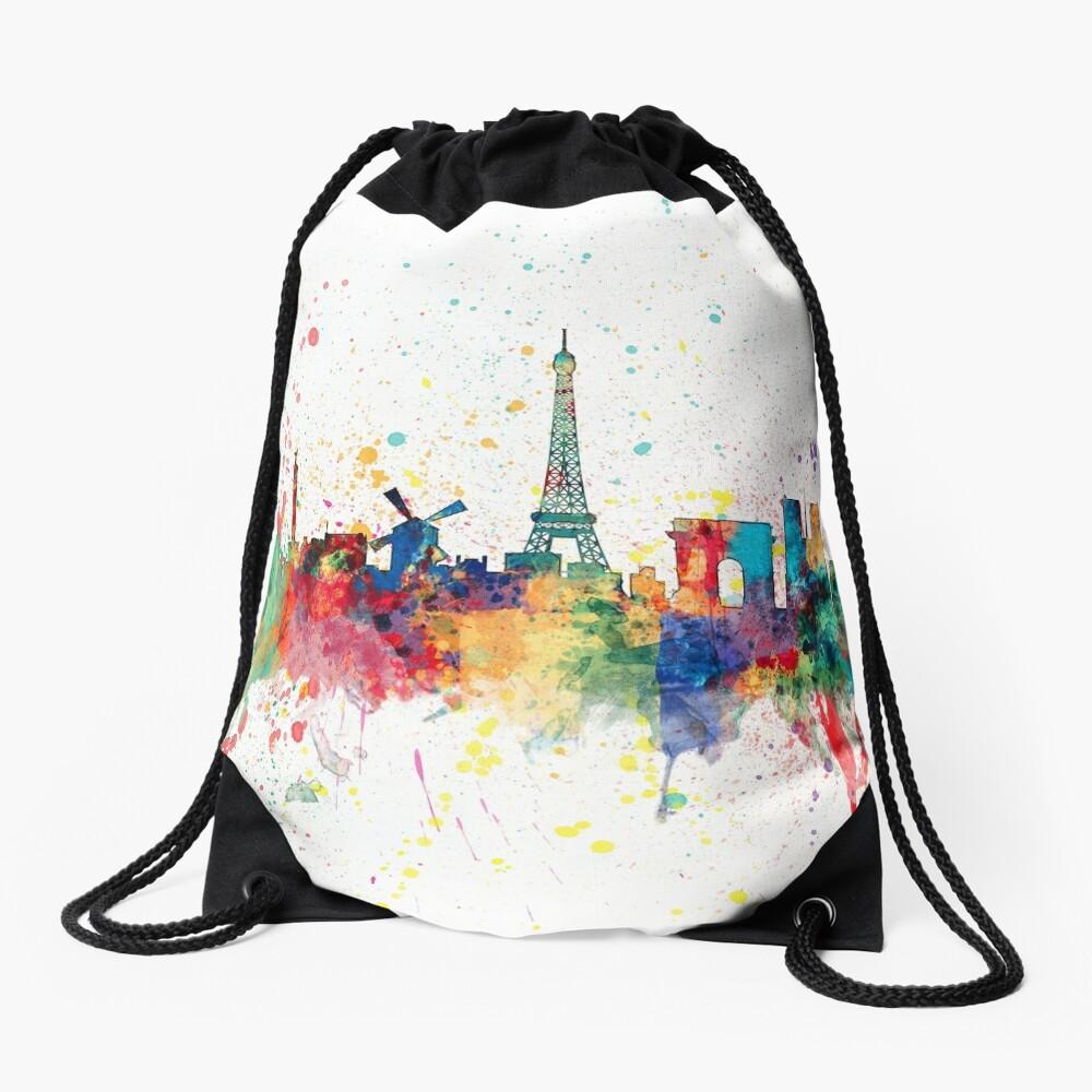 Paris Frankreich Skyline Turnbeutel