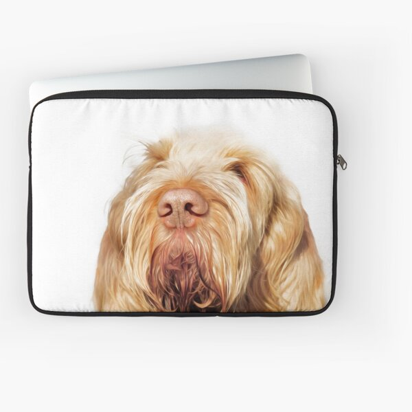 Waiting for you Spinone Laptop Sleeve