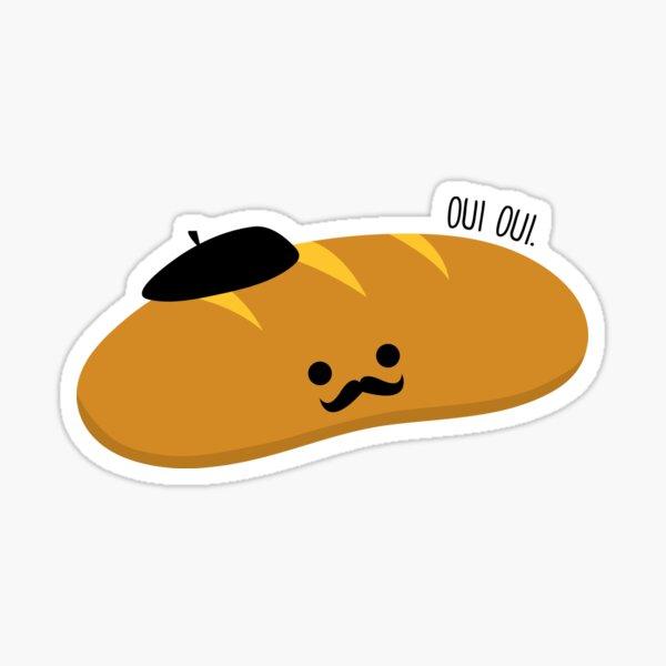 Oui Oui Baguette Sticker