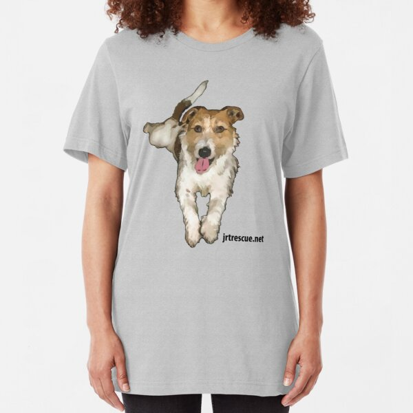 Lou Lou Series 3 from Jack Russell Rescue Slim Fit T-Shirt