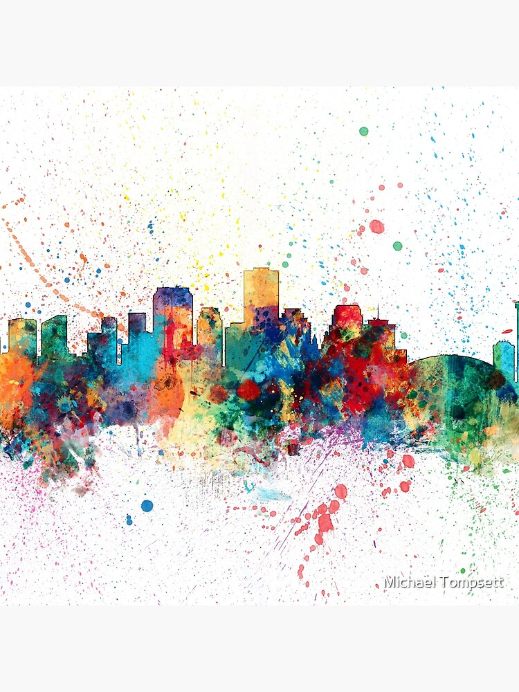 New Orleans Louisiana-Skyline von ArtPrints