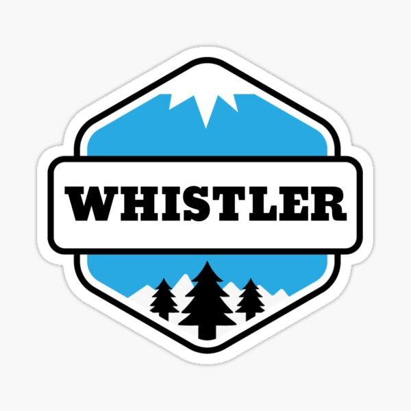 Whistler 99 North Plain Vinyl Decal Sticker