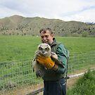 Baby Owl Rescuer by Dave Sandersfeld