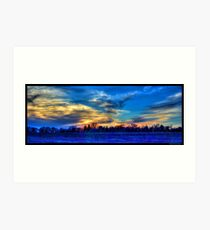 May Sunset 2 Art Print