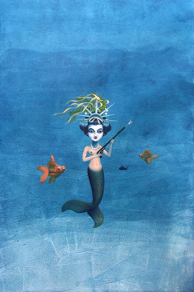 Mermaid Geisha by Graham Bliss