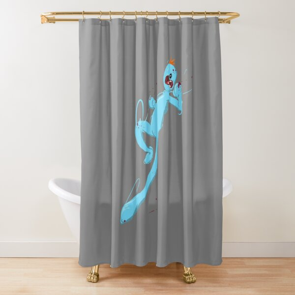 Mr Meeseeks Shower Curtain
