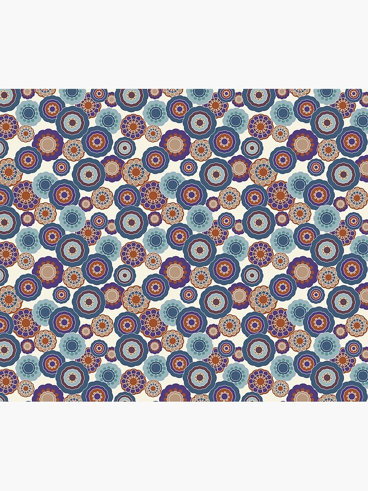 70s Floral V2 by MeredithWatson