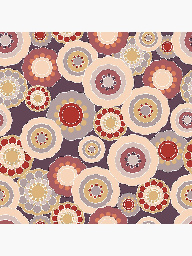 70s Floral V3 by MeredithWatson