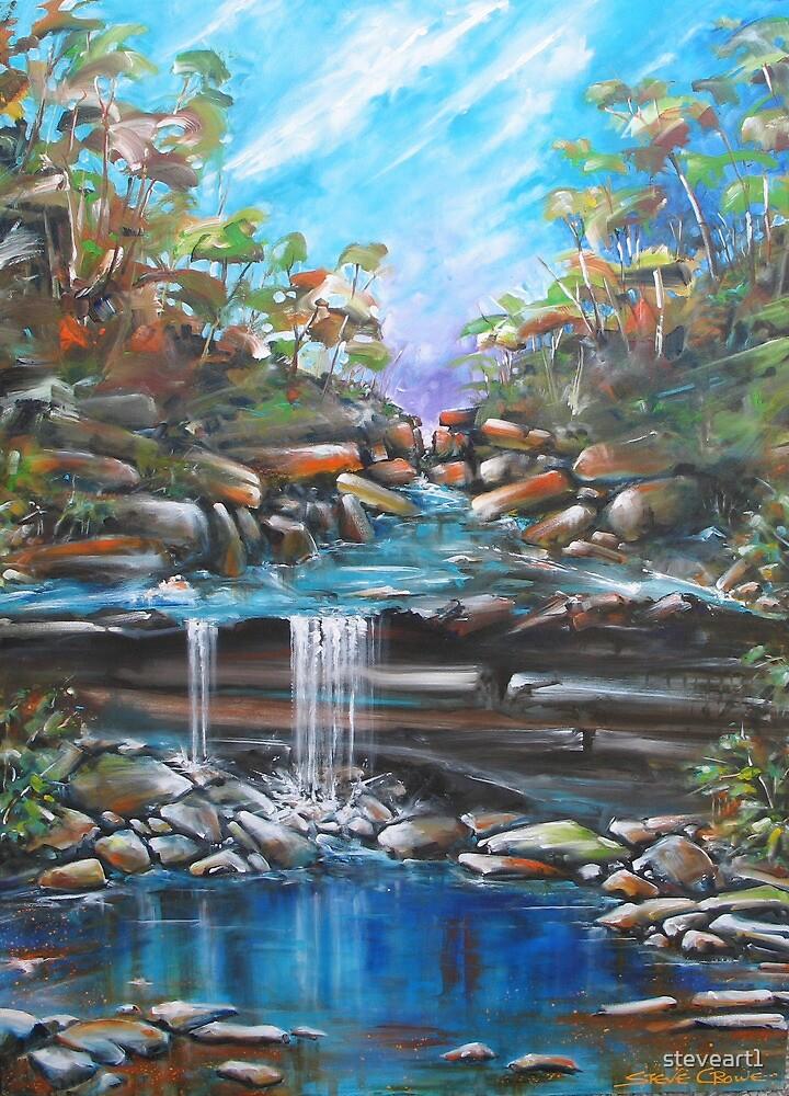 Waterfall by steveart1