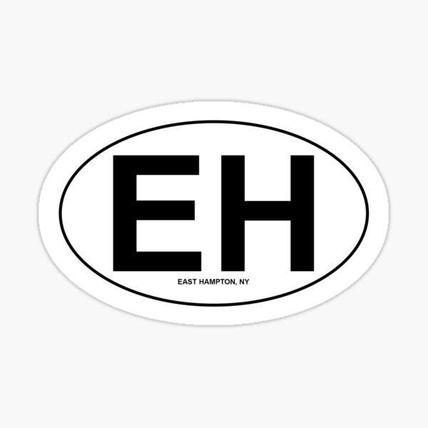 east hampton Sticker
