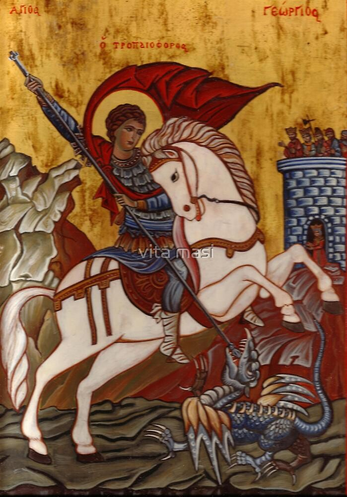 Saint George and the Dragon 1 by vimasi