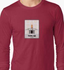 Type 40 (old skool) Long Sleeve T-Shirt