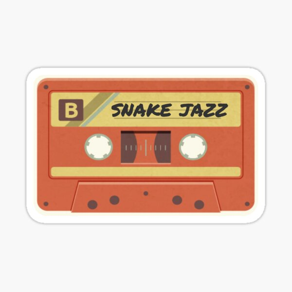 snake jazz: jams for galactic roadtrips  Sticker