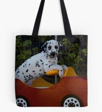 Come Drive with Me Tote Bag