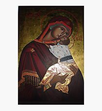 Mother of God Photographic Print