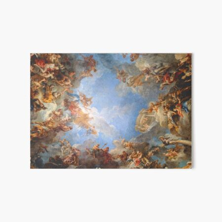 Fresco of Angels in the Palace of Versailles Art Board Print
