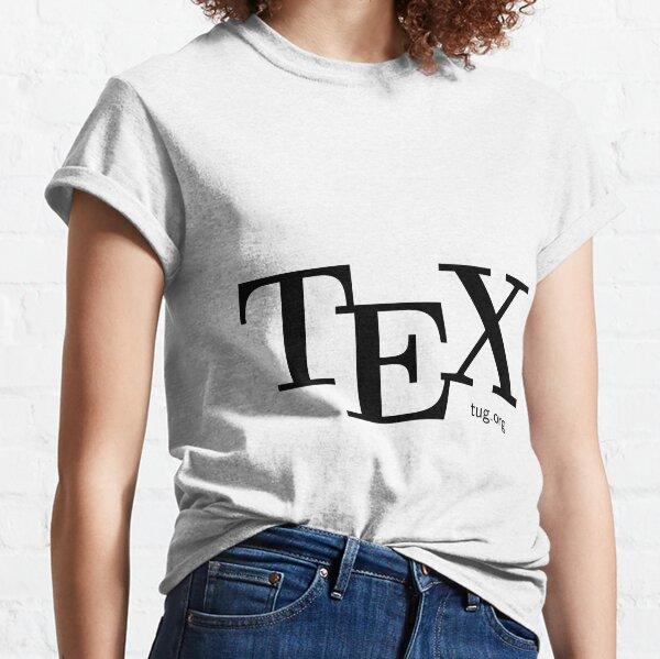 Celebrate TeX & TUG! Classic T-Shirt
