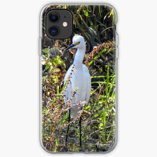Snowy Egret iPhone Soft Case