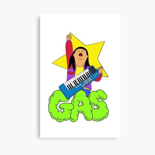 Fart School The Musical Canvas Print