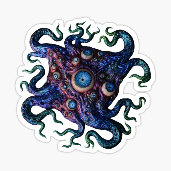 Creature from Oort Sticker