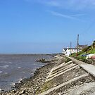 Knott End  Promenade. by Lilian Marshall