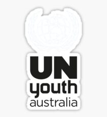 UN Youth Sticker