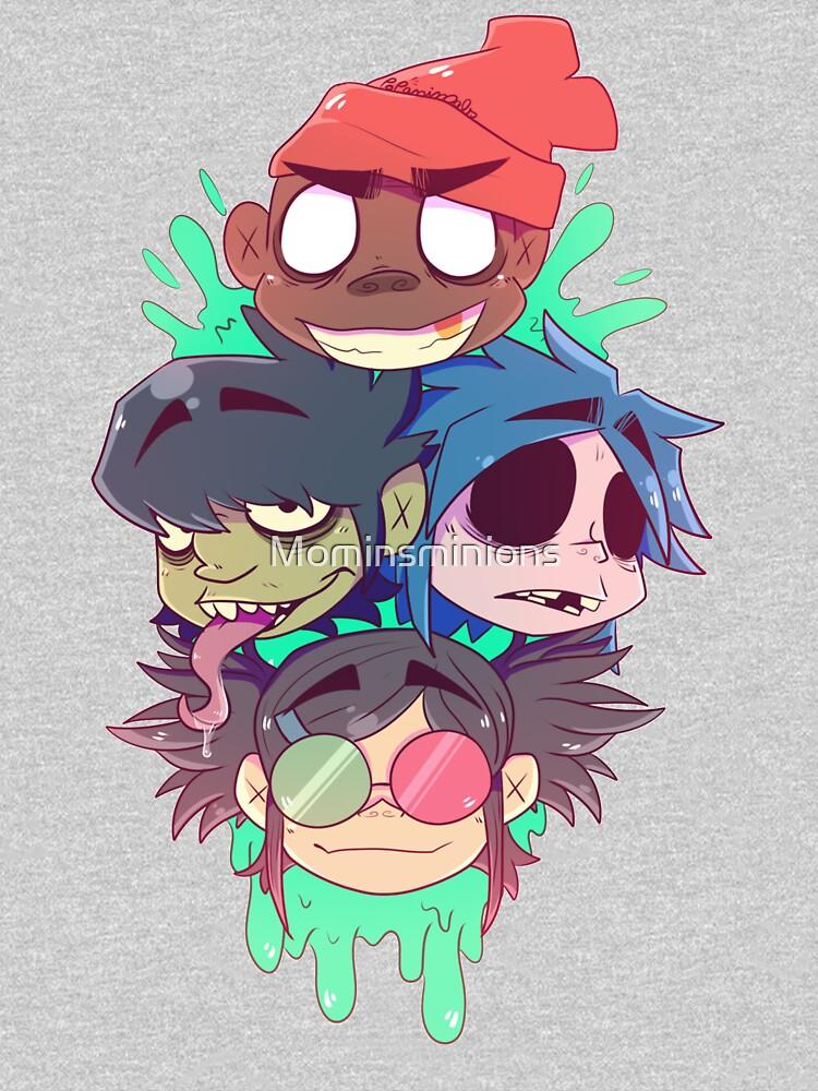 Gorillaz 2D  by Mominsminions