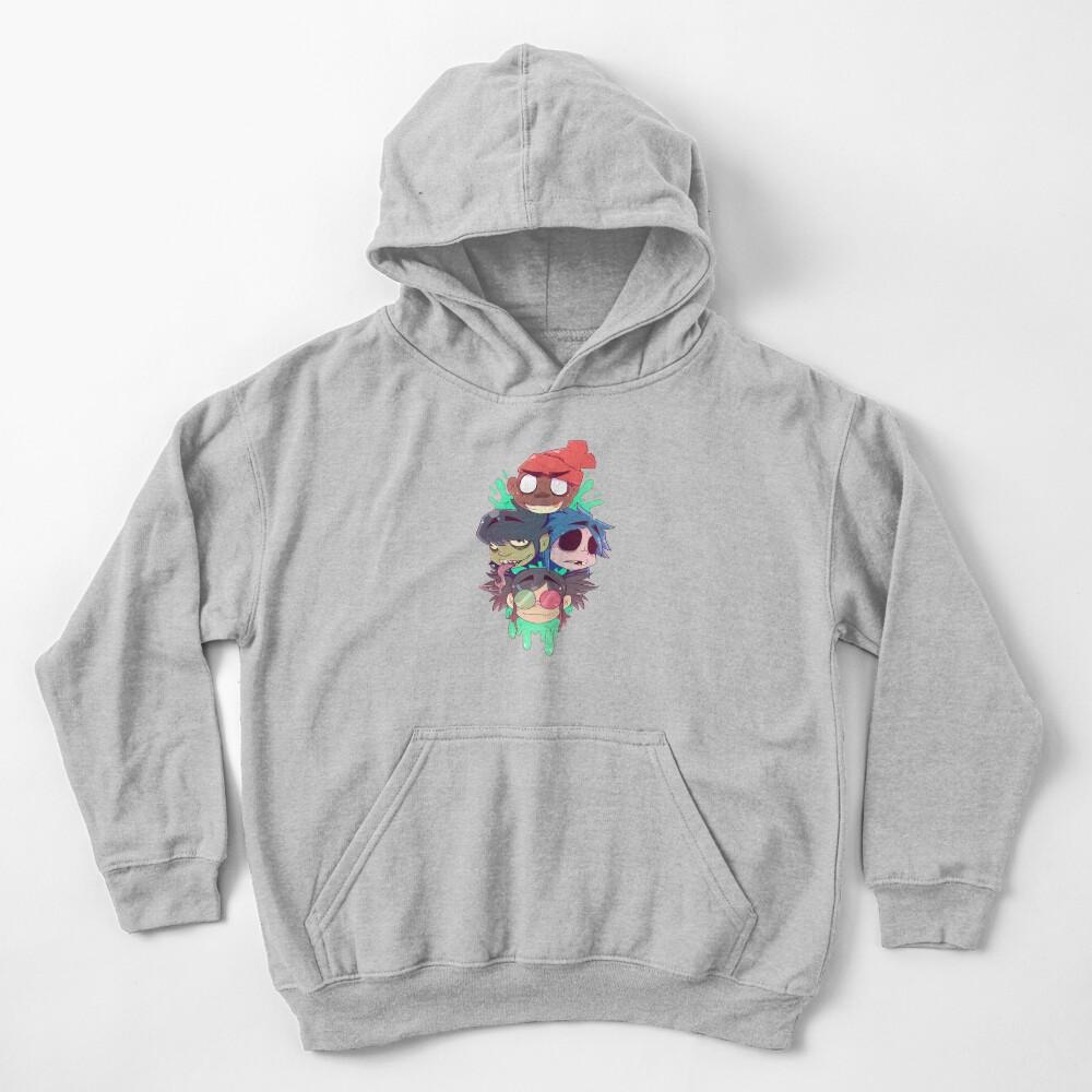 Gorillaz 2D  Kids Pullover Hoodie