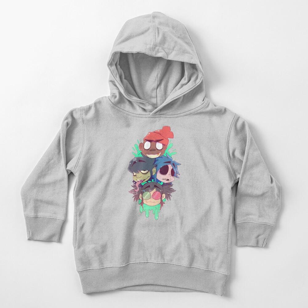 Gorillaz 2D  Toddler Pullover Hoodie