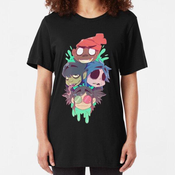 Gorillaz 2D  Slim Fit T-Shirt