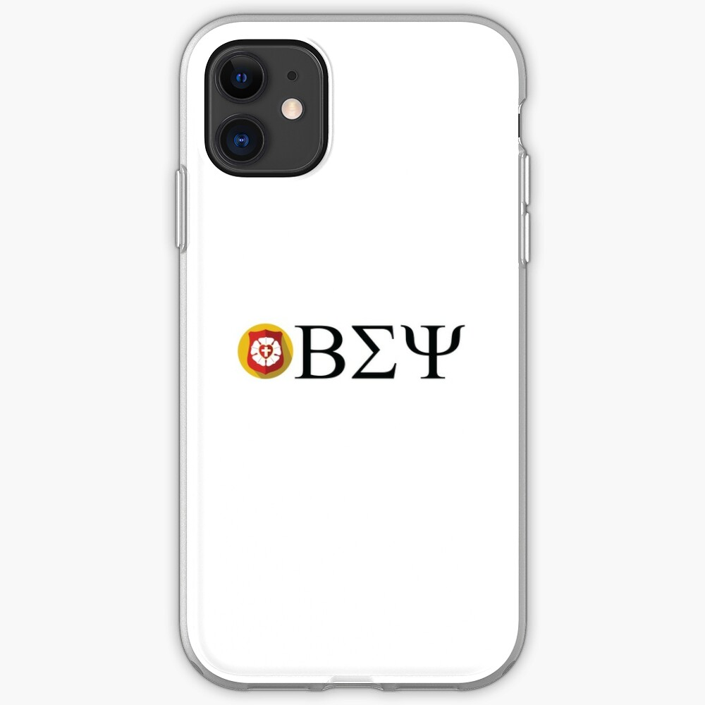 Beta Sigma Psi - badge iPhone Case & Cover